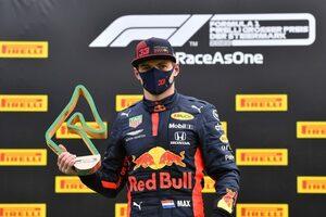フェルスタッペン3位「優勝を狙える速さはなかった。車体もエンジンも改善が必要」レッドブル・ホンダ【F1第2戦決勝】