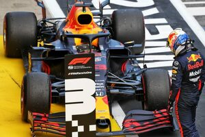 ホンダが2020年初表彰台「チームと共に問題対策と戦闘力向上に取り組み、3台入賞を果たした」と田辺TD【F1第2戦決勝】