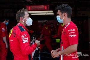 「僕たちは大人だ」フェラーリのベッテル、ルクレールとの同士討ちを引きずらず前を向く