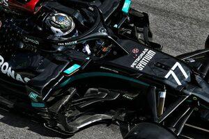 F1技術解説 オーストリアGP:より整流効果を増したメルセデスのコックピット