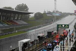 F1シュタイアーマルクのフリー走行3回目は天候不良によりキャンセルに