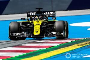 リカルド、高速クラッシュも膝の打撲のみ。チームもFP3までのマシン修復に自信|F1シュタイアーマルクGP