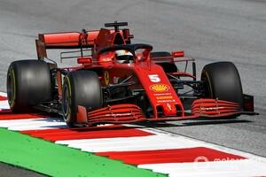 """フェラーリ、アップデート導入で""""別物マシン""""に? FP2で16番手のベッテル「かなり良くなった」"""