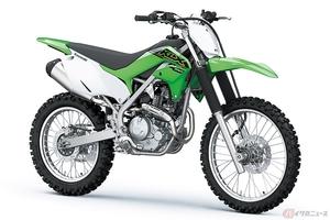 カワサキ「KLX230R」2021年モデル登場 新設計のエンジンとフレームでオフロードの楽しさを追求