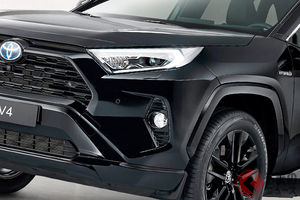 黒過ぎるRAV4!? 外も中も真っ黒な特別モデル「ハイブリッドブラックエディション」を発売へ