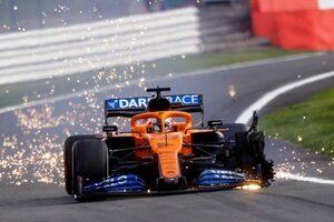 ピレリがパンク原因を発表「史上最速F1マシンの巨大な負荷の下、長時間走ったことで、激しく摩耗」
