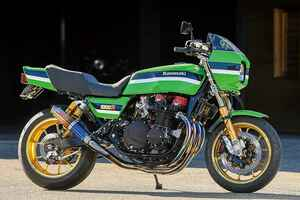 ブルドックZ1000R(カワサキZ1000R)車種ごと、オーナーごとの特徴も盛り込むコンプリート【Heritage&Legends】
