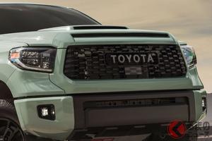 全長5.8m超! トヨタ「タンドラ」の2021年モデル登場! 黒い邪悪な特別モデルも設定