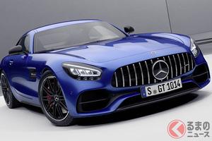 54馬力パワーアップして530馬力に! 「メルセデスAMG GT」改良新型が登場