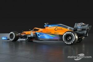 """マクラーレンF1もカラーリング変更。多様性求めるキャンペーンの一環で""""レインボー""""に"""