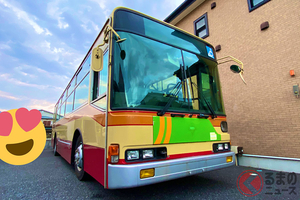 SNSで話題! 路線バスをセカンドカーに!? バスの個人所有は簡単に出来るのか