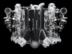 マセラティがV6エンジンを新開発。F1由来のプレチャンバー技術を応用した最新ユニットへ