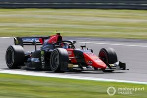 FIA F2シルバーストン予選:ドルゴビッチが初のPP獲得。角田は終盤にタイム伸びず9番手