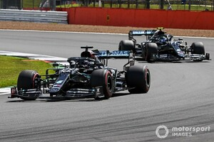 """F1イギリスGP予選:ハミルトン、驚異のレコードで予選を""""制圧""""。レッドブル・ホンダのフェルスタッペン3番手も1秒遅れ"""