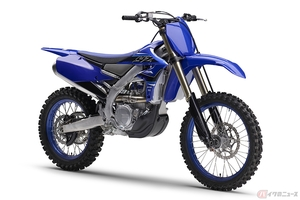 ヤマハ「YZ450FX」発売 新型エンジンとフレームでマイナーチェンジ