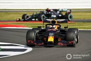 「今がチャンス!」フェルスタッペン、チームの指示に反対した理由を説明|F1 70周年記念GP