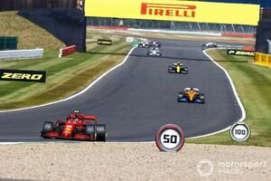 非力フェラーリで殊勲の4位。シャルル・ルクレール「8位以上になれるなんて、予想もできなかった」|F1 70周年記念GP