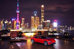 フェラーリ ローマが上海とシンガポールに上陸。「眠らない街」が似合う最新クーペ
