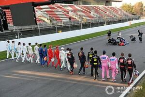 人種差別への抗議を示すため、F1ドライバー全員が開幕戦オーストリアのグリッドで片膝をつくことを検討