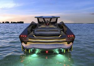 ランボルギーニにインスパイアされた高級モーターヨットが誕生! これぞ海上を走るスーパーカー