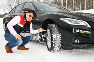【試乗】日本の道から世界へ! ミシュランのスタッドレスタイヤ最新作「X-ICE SNOW」が発売