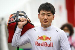 角田裕毅インタビュー:消化不良に終わったF2予選「4、5番手は十分行けるはずだったので悔しい」