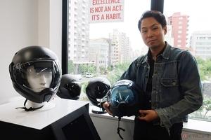 革新的技術を備えた「クロスヘルメットX1」既製品への疑問から生まれた新しい試み