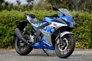 スズキ100周年記念カラーを纏った原付二種スポーツバイク「GSX-R125 ABS」発売