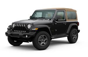 雰囲気たっぷり!黒のボディと淡い茶色のソフトトップがシックな「Jeep Wrangler」の限定モデルBlack&Tan