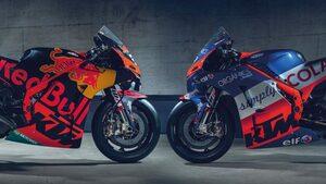 MotoGP:2021年のライダー発表したKTM、4台ともに同スペックマシンを供給。4名全員が1年間の契約に