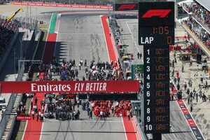F1アメリカGP、開催を想定して計画進行中。レース&コンサート形式の運営は取りやめに