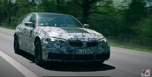 BMW、次期M3を予告 ニュルでのテスト動画を公開へ