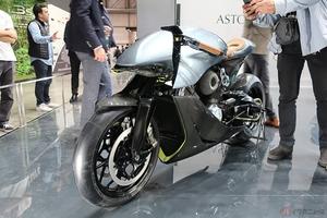 アストン×シューペリア「AMB 001」走行動画公開 英国老舗ブランドのコラボバイクが遂に始動