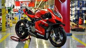 224ps/159kgのスペシャルバイク ドゥカティ「スーパーレッジェーラV4」500台限定で生産開始
