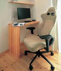 自動車用シートを家庭やオフィスで有効活用できる!? ブリッド製シートで気分も作業効率もアップ!!