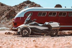 開放的でパワフルな走りが魅力の3輪ツアラー「カンナム・スパイダーRT」が新型となって発売開始