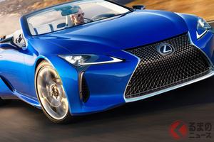 レクサス「LC500コンバーチブル」今夏発売 ラグジュアリーな特設サイト公開