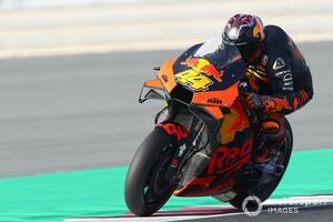 【MotoGP】KTM、MotoGPマシンのテストを再開。エスパルガロ弟とペドロサが走行