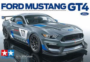タミヤ GT4 仕様アメリカン・マッスルカー「フォード マスタング GT4」の 1/24 スケールモデルを発売