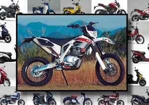 "AJP「PR3 EXTREME 125」いま日本で買える外国車""原付二種モデル""はコレだ!【最新125cc大図鑑 Vol.086】"