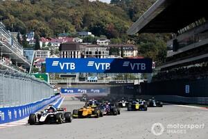 FIA F2、ソチ戦開催決定で10ラウンド20戦を確保。今後はさらなるレースの追加が濃厚