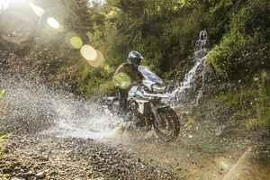 TRIUMPH×石戸谷蓮プロデュースの林道ルートを、アドベンチャーバイクで走破せよ