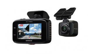 蛇行運転や急接近を検知し、警告音と画面表示で知らせるAIセンシング機能搭載。ケンウッドの前後撮影対応2カメラドラレコ「DRV-MR8500」