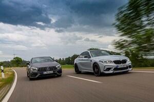 【比較試乗】「メルセデスAMG CLA45S vs BMW M2 CS」コンパクト級高性能王座決定戦!