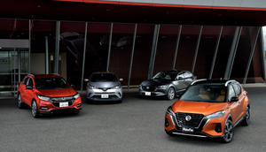 注目の最新SUV、日産キックスと、ホンダ・ヴェゼル、トヨタC-HR、マツダCX-30の先進安全装備を徹底比較!