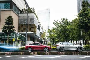 BMW アルピナ XD4 × BMW X3 Mコンペティション、塩見 智が「似て非なる感触」を吟味する