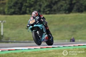 MotoGPチェコFP2:クアルタラロがトップ奪還。ペトロナス・ヤマハがワンツー。中上は総合9番手