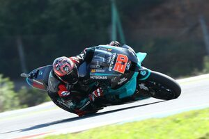 MotoGP第4戦:2連勝を飾ったクアルタラロが初日総合トップ。中上はフリー走行1回目で1番手