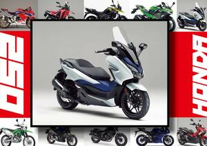 ホンダ「フォルツァ」いま日本で買える最新250ccモデルはコレだ!【最新250cc大図鑑 Vol.006】-2020年版-