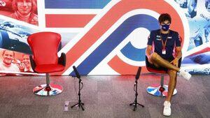 F1イギリスGP木曜会見:急遽ひとりで会見に臨んだストロール「僕たちが2番目に速いチームだったことは確かだった」